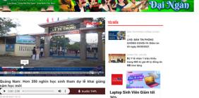Bản tin khai giảng năm học 2021-2022 của Báo Pháp luật Việt Nam
