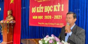 Sơ kết học ki I, năm học 2020 – 2021